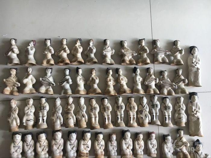 磁州窑人物 古玩古董杂项瓷器图2