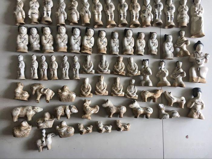 磁州窑人物 古玩古董杂项瓷器图3
