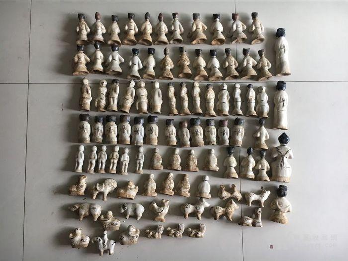 磁州窑人物 古玩古董杂项瓷器图7