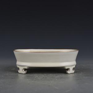 瓷器 瓷器水仙盆 陶瓷  A37ZB