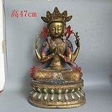 一件铜佛像