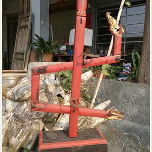 九龙灯架 木雕 民俗物品旧货C 1670