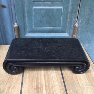 精品木器 摆件底座一套 檀木底座
