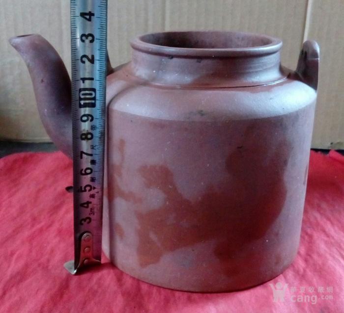 解放初期二号直型紫砂壶