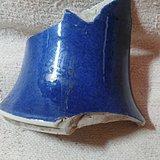 康熙稀有品种洒蓝描金立件标本