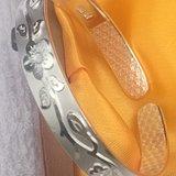 纯银S9999万足银女手镯时尚款开放式手镯