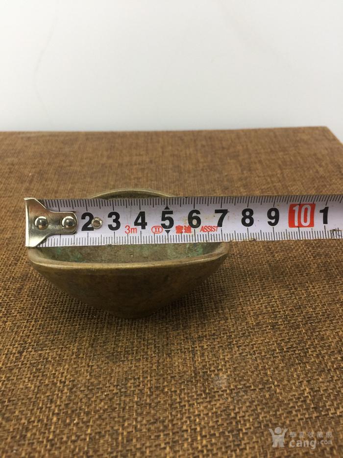 寿字龙纹铜碗A2856图1