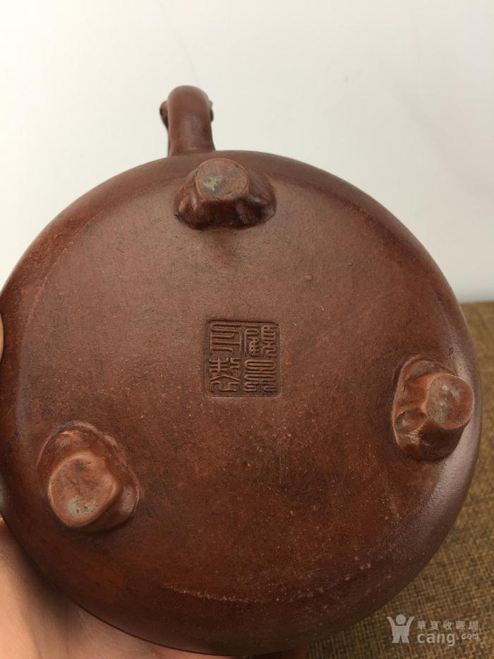 民国花鸟老茶壶A3753图5