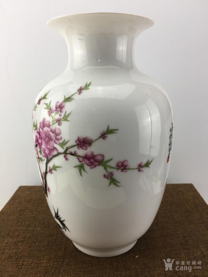 景德镇花鸟瓷瓶A2371图2