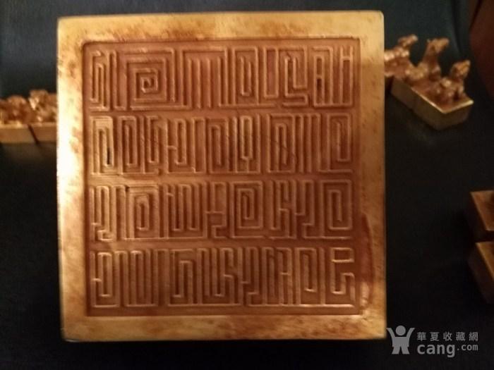 铜鎏金十二生肖印章