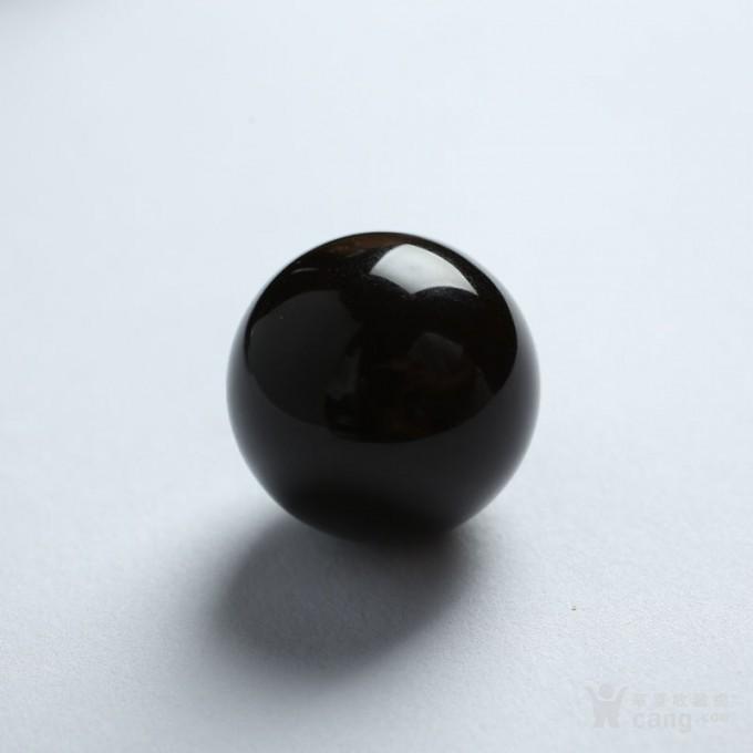黑加伦缅甸琥珀圆珠 10JI01图4