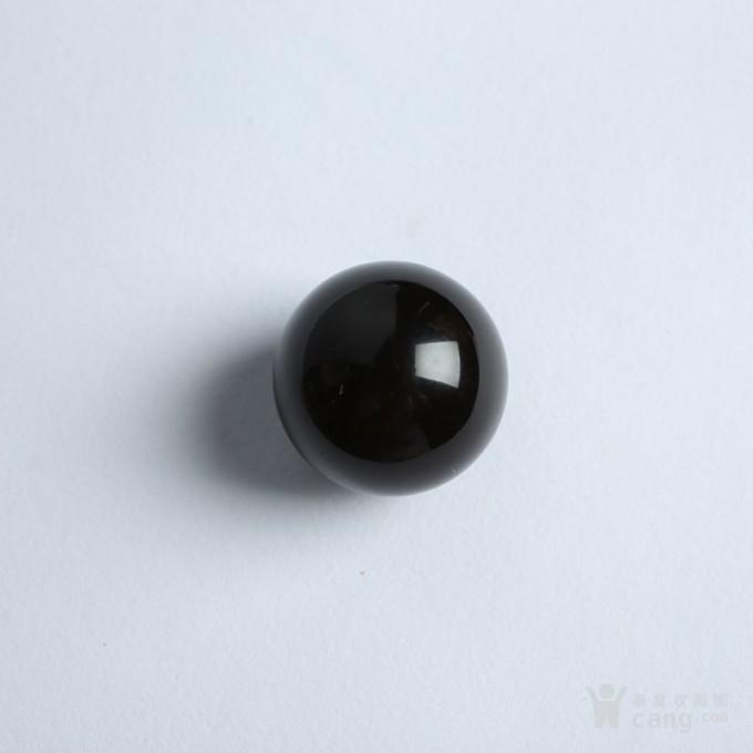 黑加伦缅甸琥珀圆珠 10JI01图3