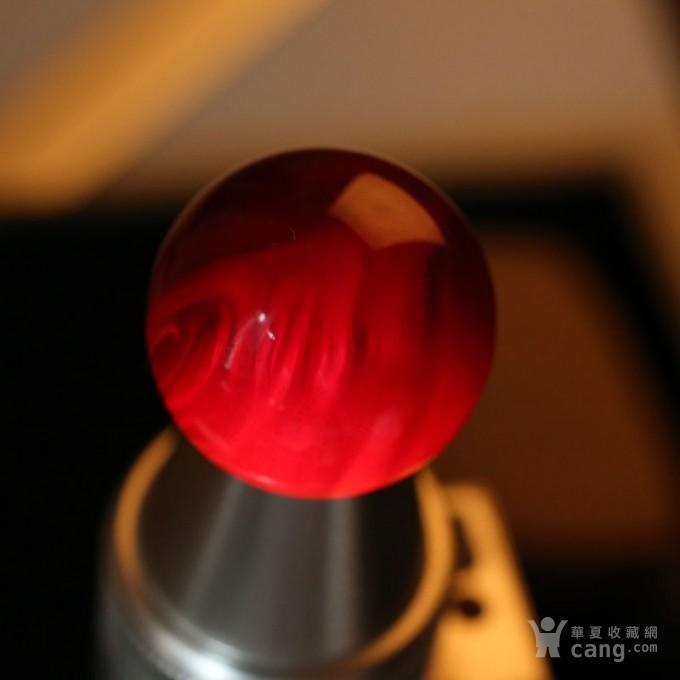 黑加伦缅甸琥珀圆珠 10JI01图8