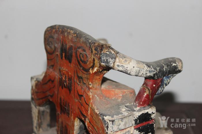 清三代托椅佛像图5