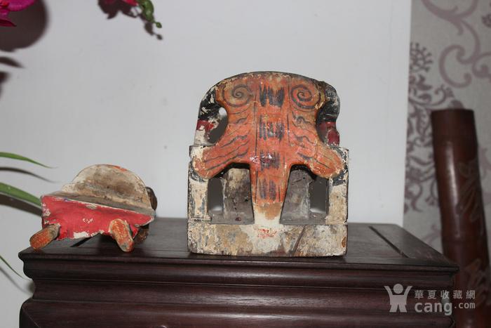 清三代托椅佛像图6