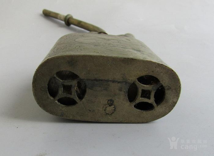 民国铜水烟壶