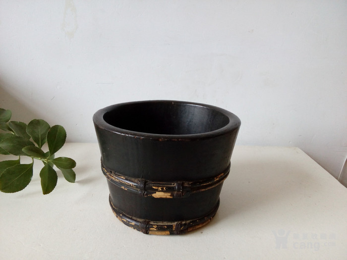 清代文用小箍盆