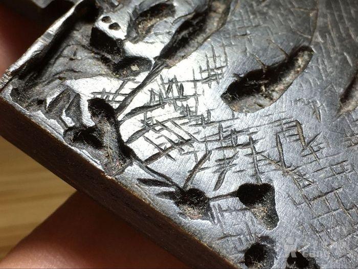 清 角质 龙勾 手工雕刻 保浆老厚图6