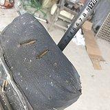 清代老的铁质的可以折叠的理发椅子