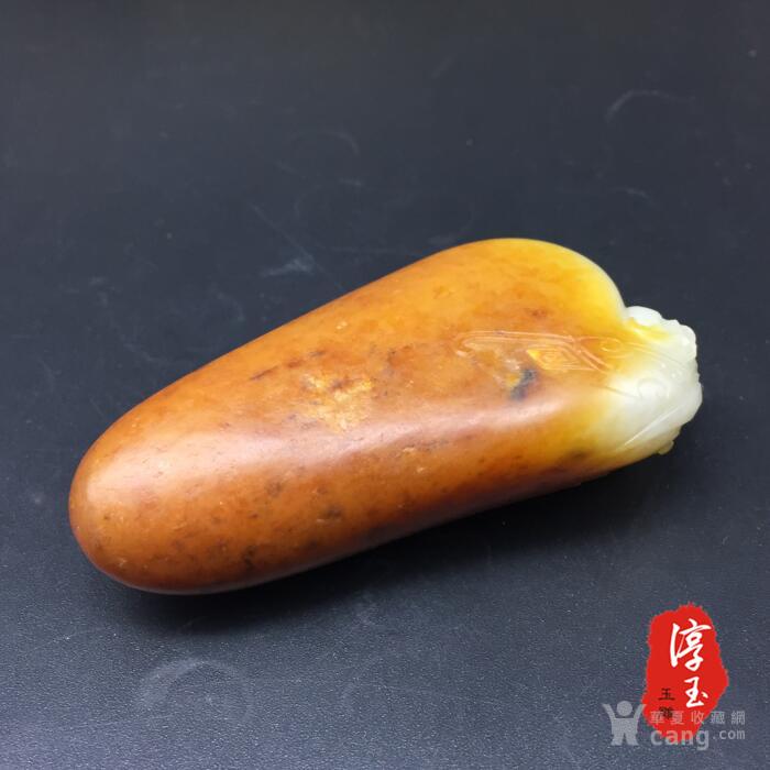 黄带子是什么_90克 带子上朝 手把件 黄沁籽料