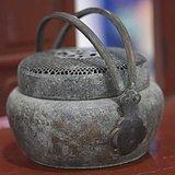 原包浆老铜手炉