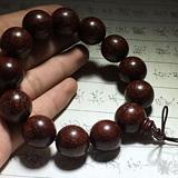 印度 小叶紫檀 手串1.8 带金星