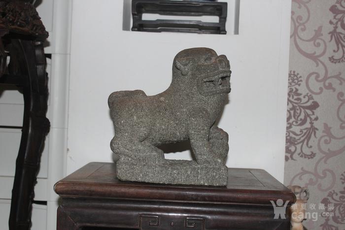 清代石狮子图1