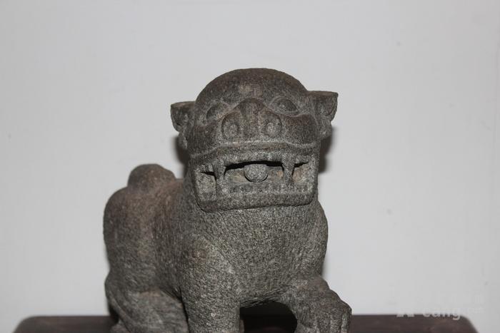 清代石狮子图6