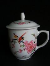 红色官窑 中南海怀仁堂珍品茶杯