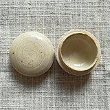 契丹   北京龙泉务窑  白釉粉盒