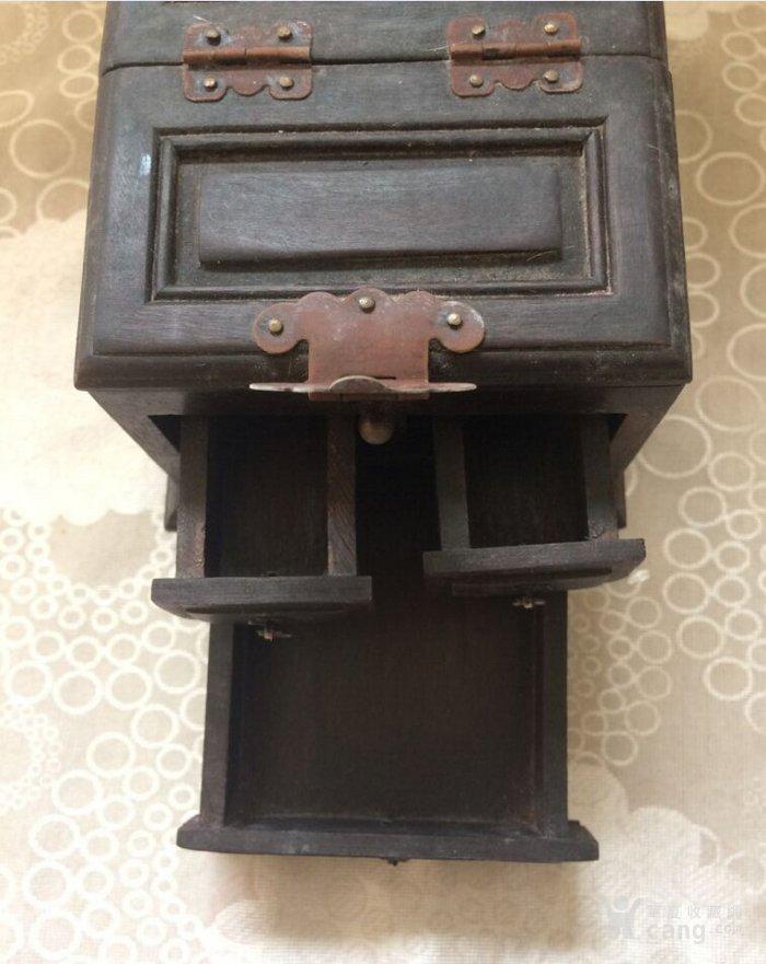 素面檀木首饰盒