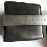 厚重檀木首饰盒