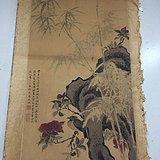 山竹花鸟图B0687