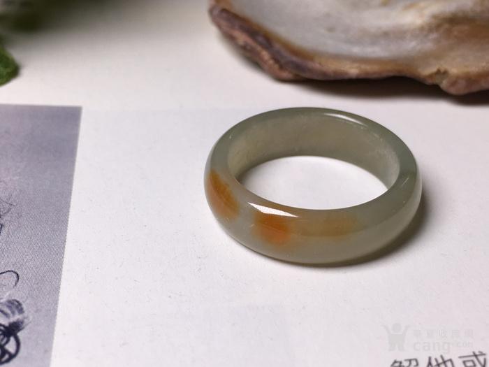八九十年代的糯种黄翡翡翠指环