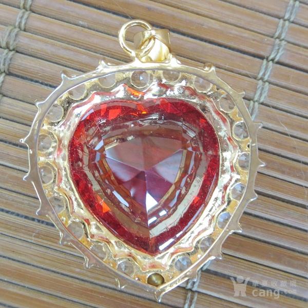 红宝石胸坠 宝石胸针图4