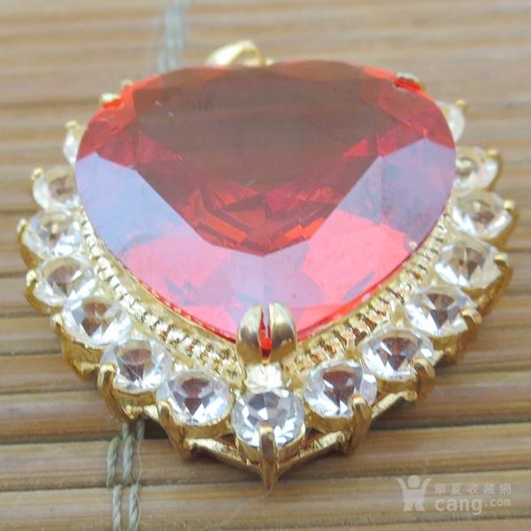 红宝石胸坠 宝石胸针图6