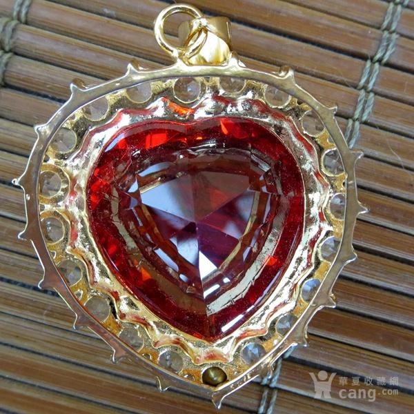 红宝石胸坠 宝石胸针图5