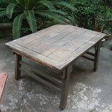 苏作 清代老榉木刀牙板茶桌酒桌