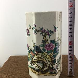 花鸟牡丹瓷器A2364