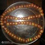 清代玛瑙珠子70颗,手工制作,大小有差别。