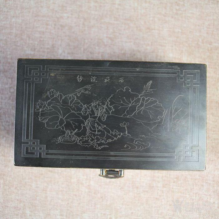 纯铜收纳盒储物盒