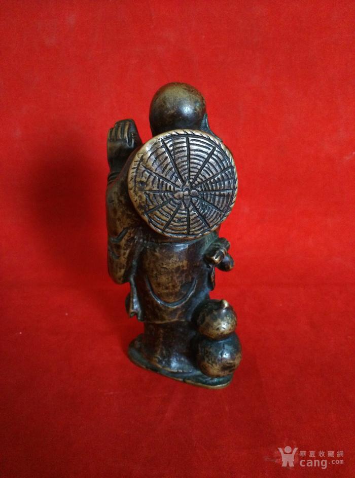瞎和尚挑灯铜像图9