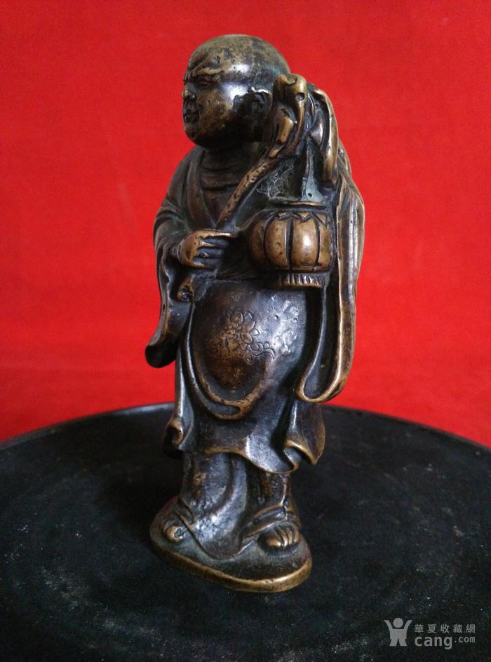 瞎和尚挑灯铜像图3