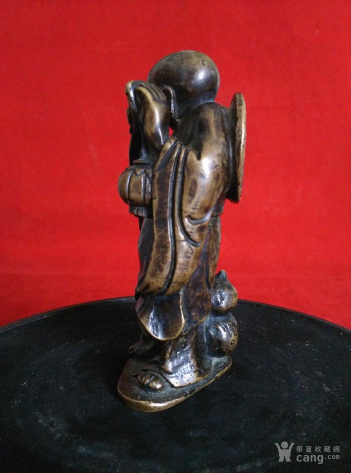 瞎和尚挑灯铜像图4