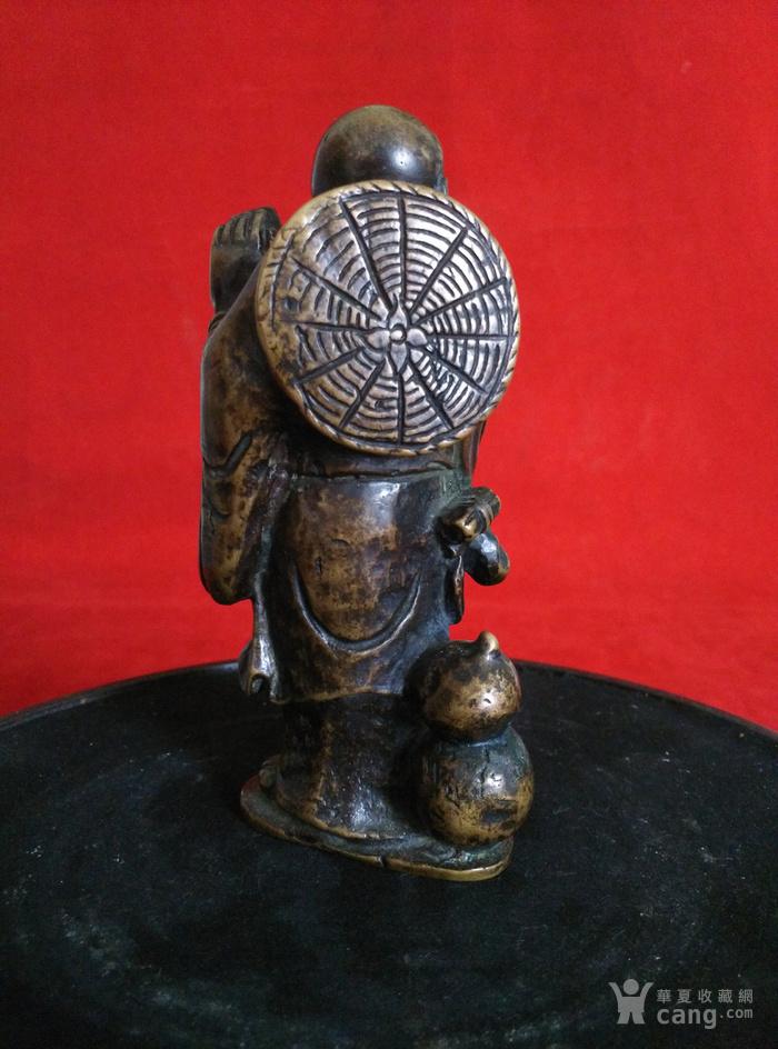瞎和尚挑灯铜像图5