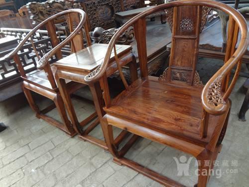 古董啦黄花梨圈椅王桂兰收藏明清收藏
