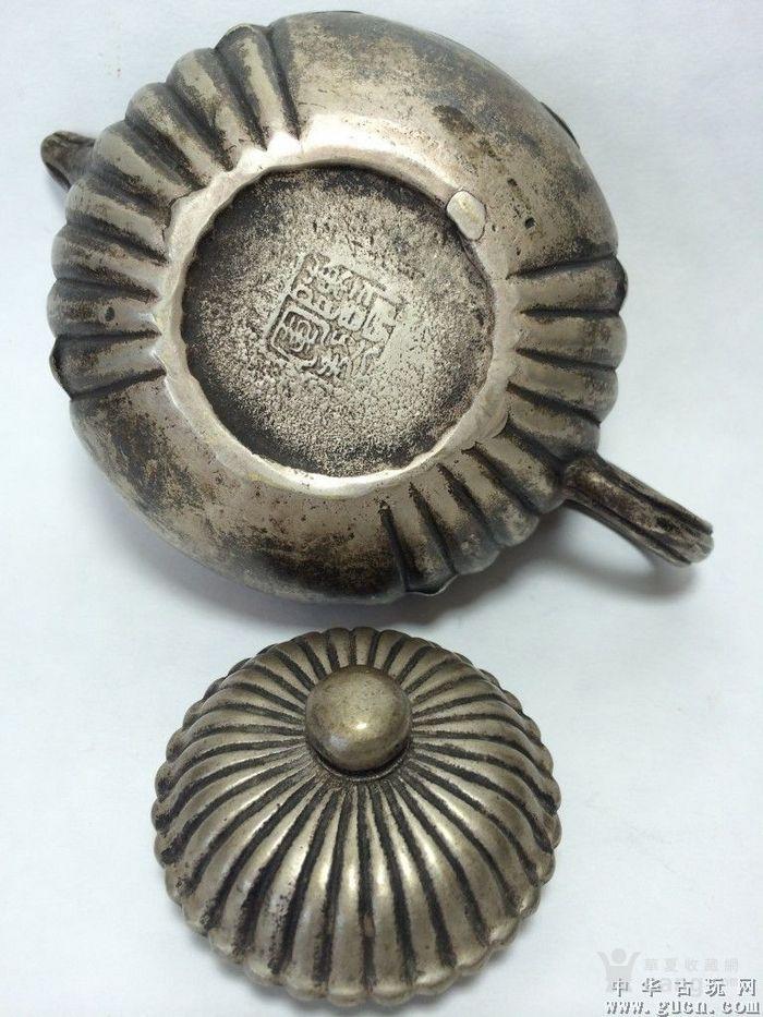 祝福白铜壶