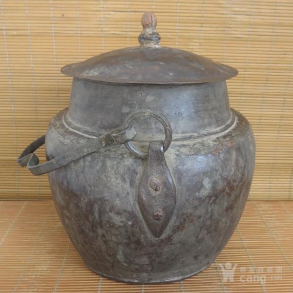 红铜吊罐  老炊具图3