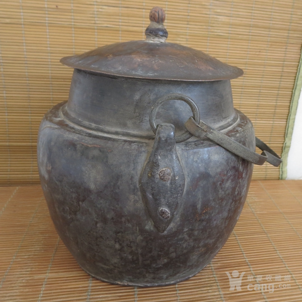 红铜吊罐  老炊具图5