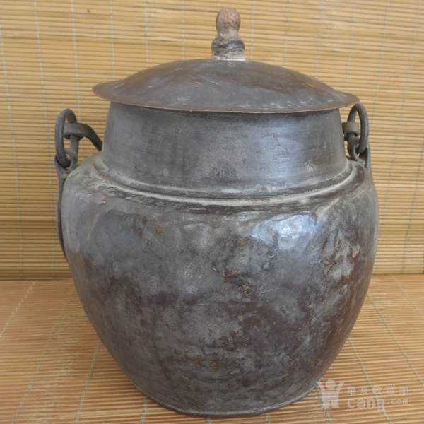 红铜吊罐  老炊具图4